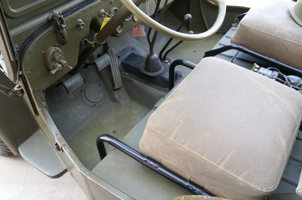 1950 Jeep Willys CJ3A