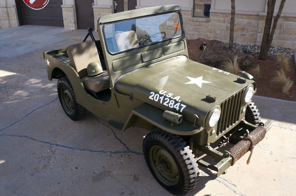 Jeep Wagoneer For Sale >> 1950 Jeep Willys CJ3A for sale