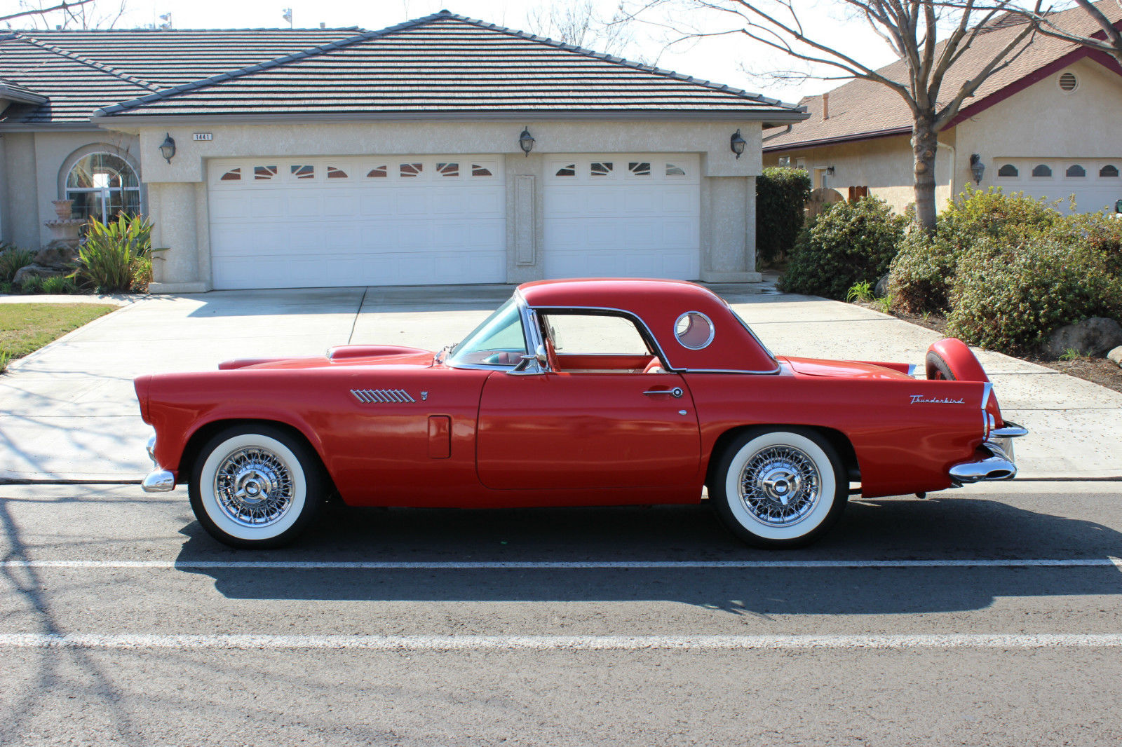 1956 Ford Thunderbird for sale  Thunderbird Free Wiring Diagram on