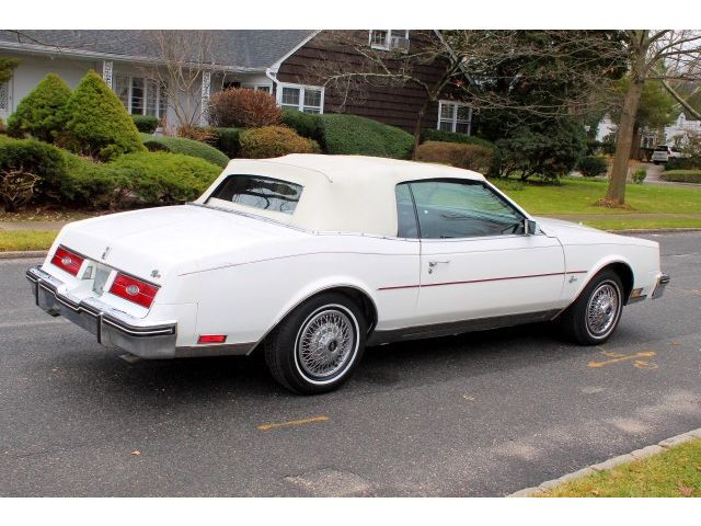 1985 Buick Riviera 2dr Coupe Convertible