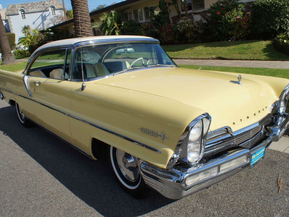 1957 Lincoln Premiere Hardtop Coupe For Sale