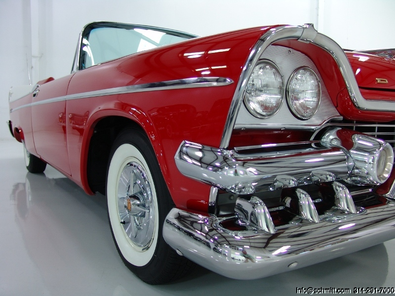 1958 Dodge Coronet Super D-500 Convertible