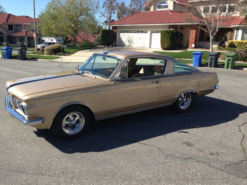 1965 Plymouth Barracuda For Sale 1 For Sale