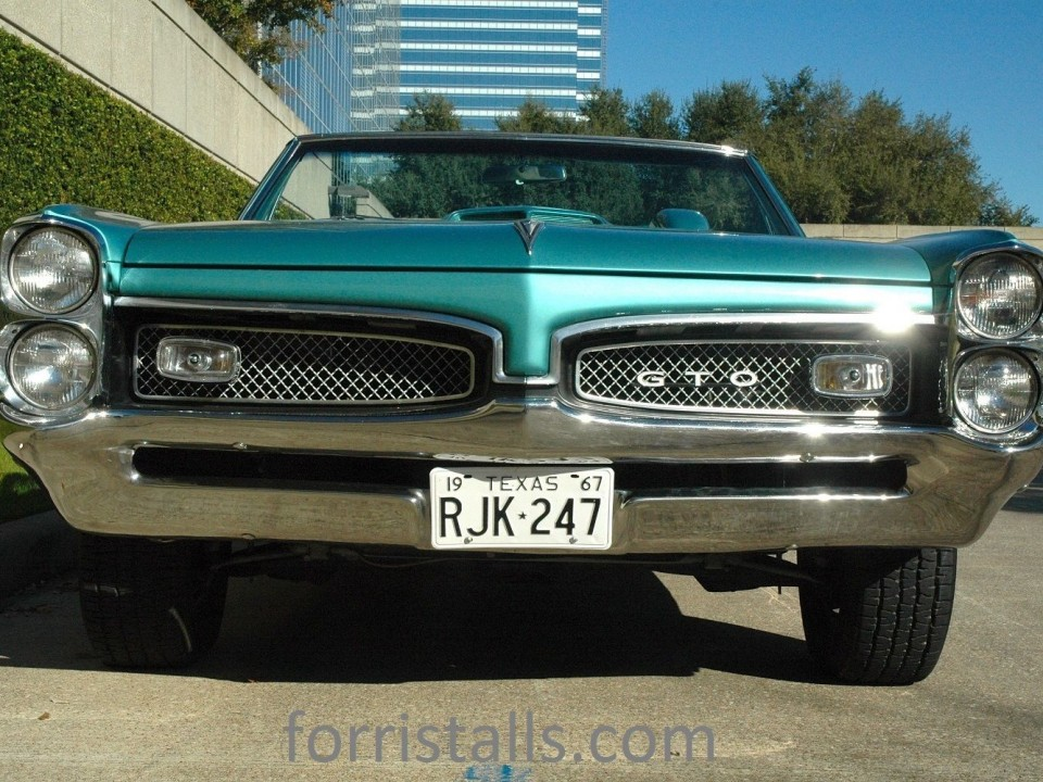 1967 Pontiac GTO Convertible for sale
