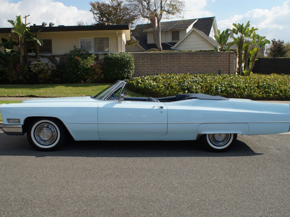 1968 Cadillac de Ville Convertible for sale