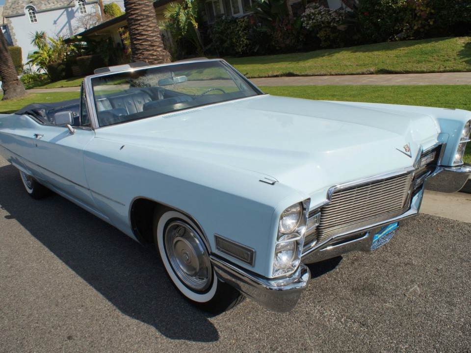 1968 Cadillac de Ville Convertible for sale