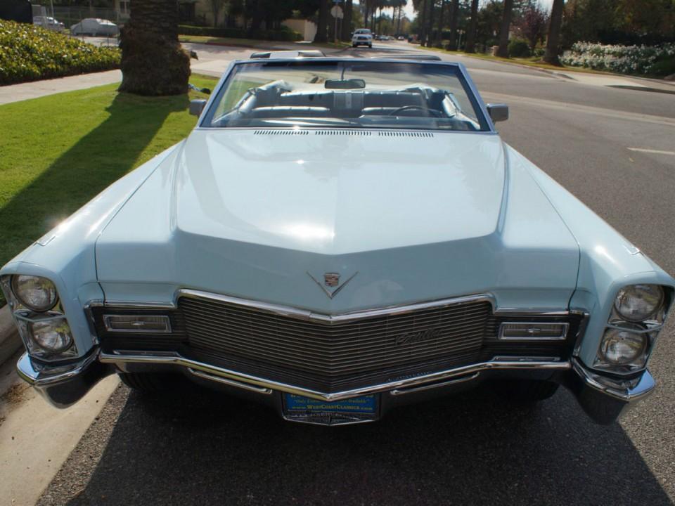 1968 Cadillac de Ville Convertible