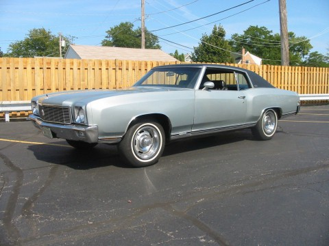 1971 Chevrolet Monte Carlo for sale