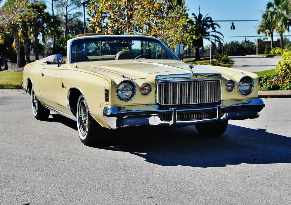 1977 Chrysler Cordoba Convertible For Sale