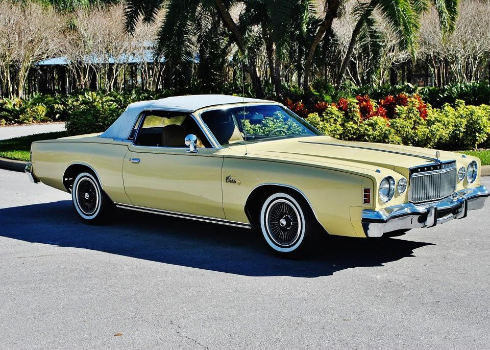 1977 chrysler cordoba convertible for sale