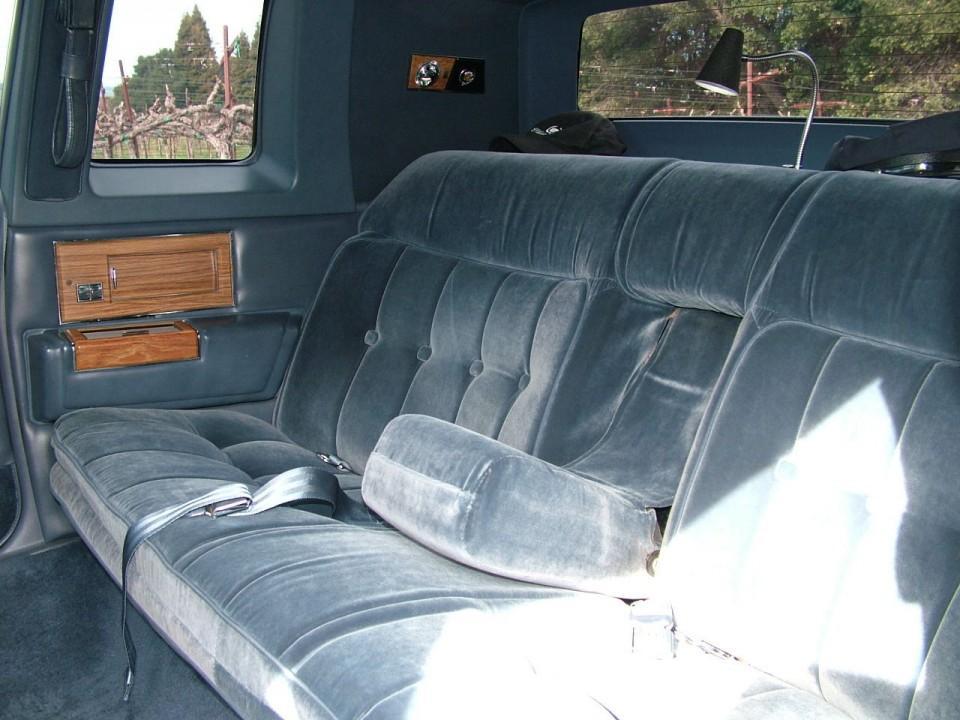 1984 Cadillac Fleetwood Limousine