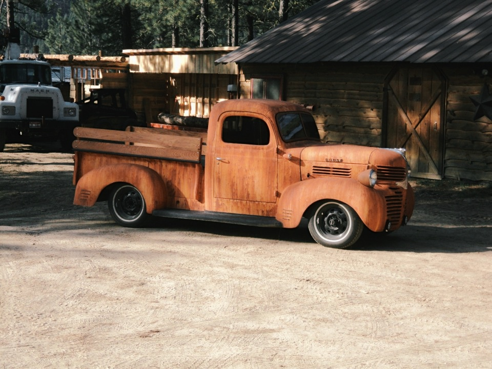 dodge pickup rat rod  sale