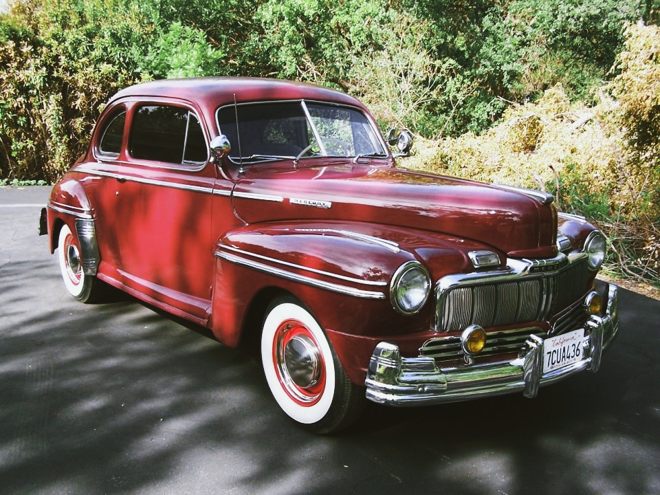 1948 Mercury Two Door Coupe For Sale