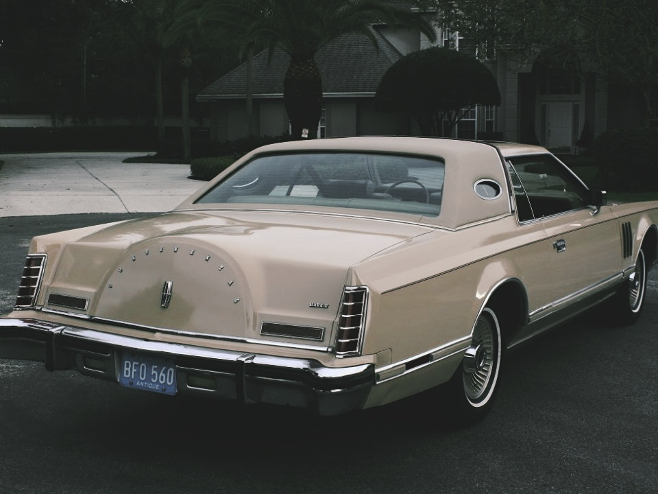 1979 Lincoln Mark V Cartier Coupe For Sale