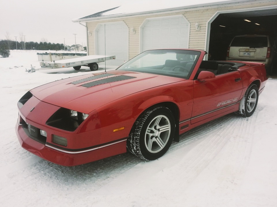 American Express Car Buying >> 1988 Chevrolet Camaro IROC-Z Convertible for sale