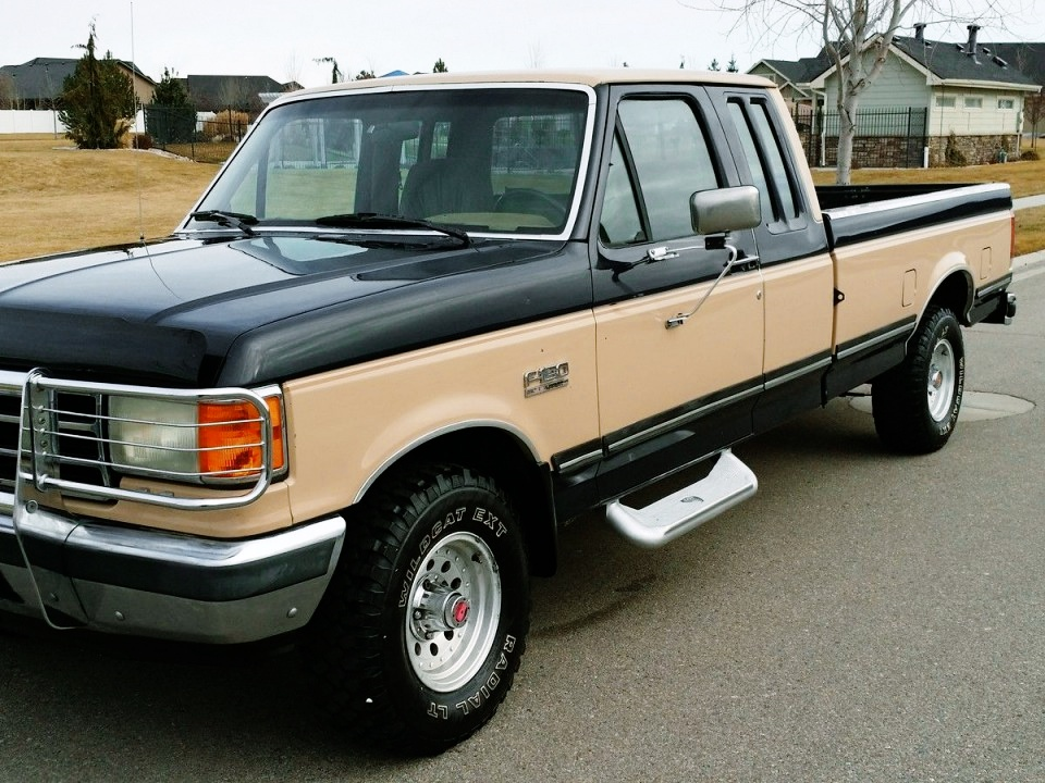 1990 Ford F-150 Supercab