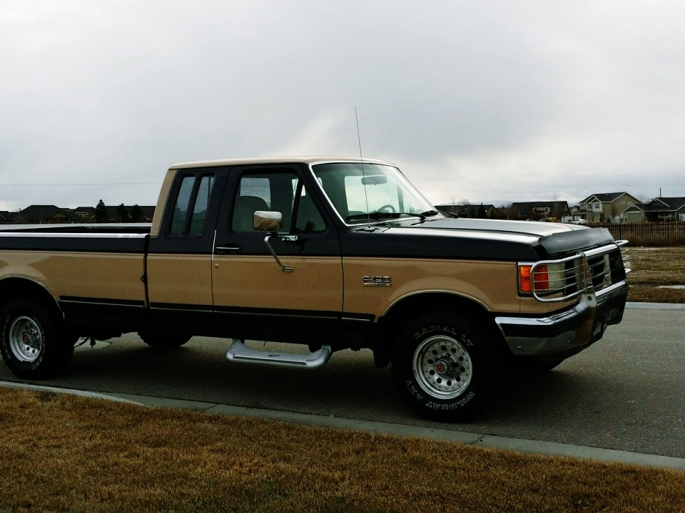 1995 Ford Bronco >> 1990 Ford F-150 Supercab for sale