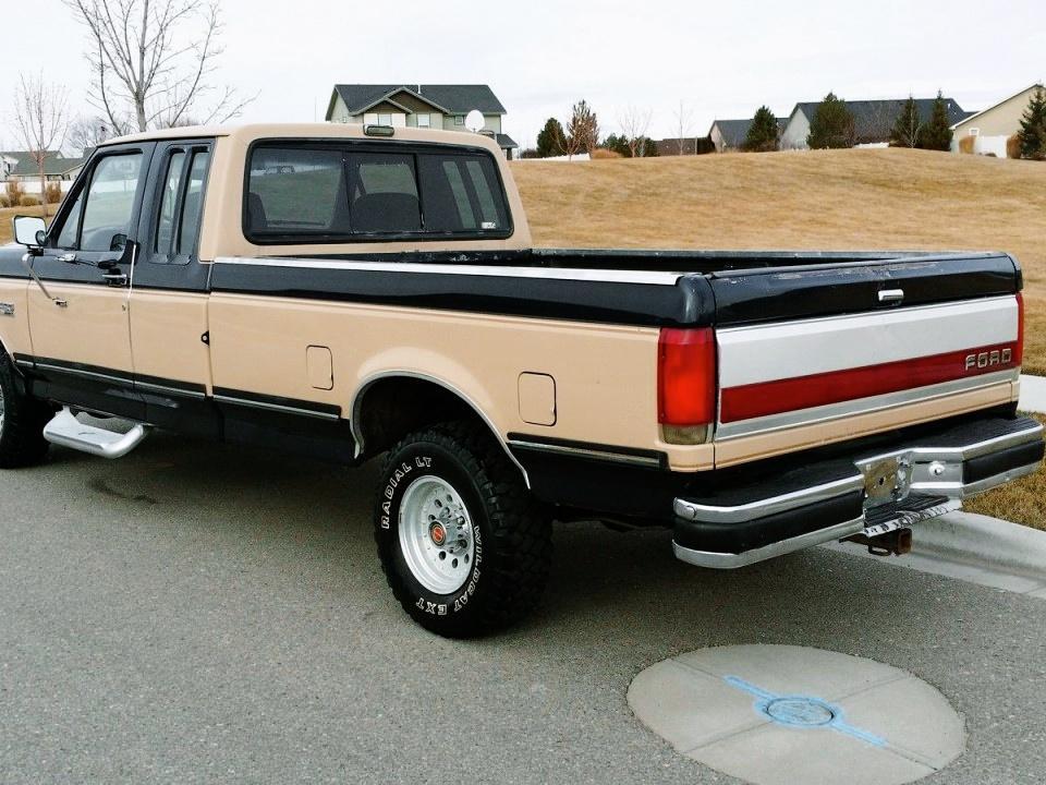 1990 ford f 150 supercab for sale. Black Bedroom Furniture Sets. Home Design Ideas