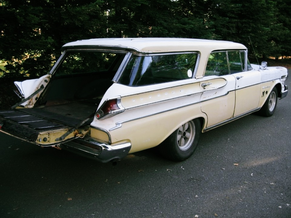 1957 mercury commuter station wagon for sale