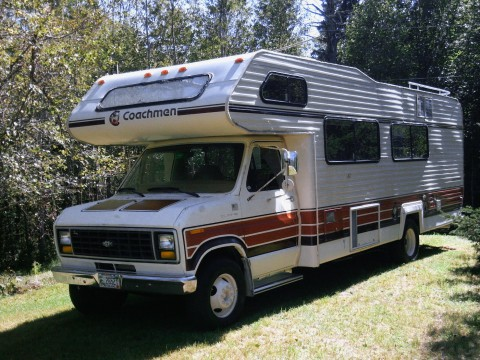 1983 Ford Coachman RV Motorhome for sale
