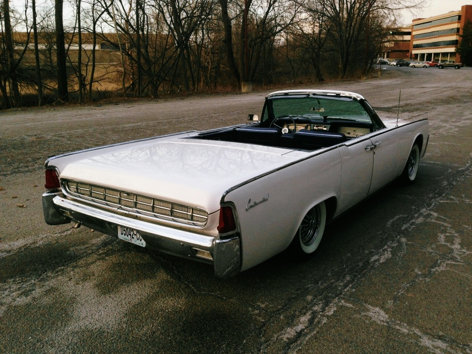 Lincoln Continental Convertible For Sale
