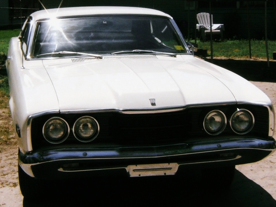 1968 mercury comet sports coupe for sale