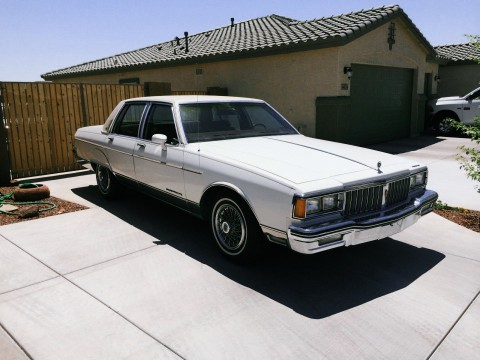 1985 Pontiac Parisienne Brougham for sale