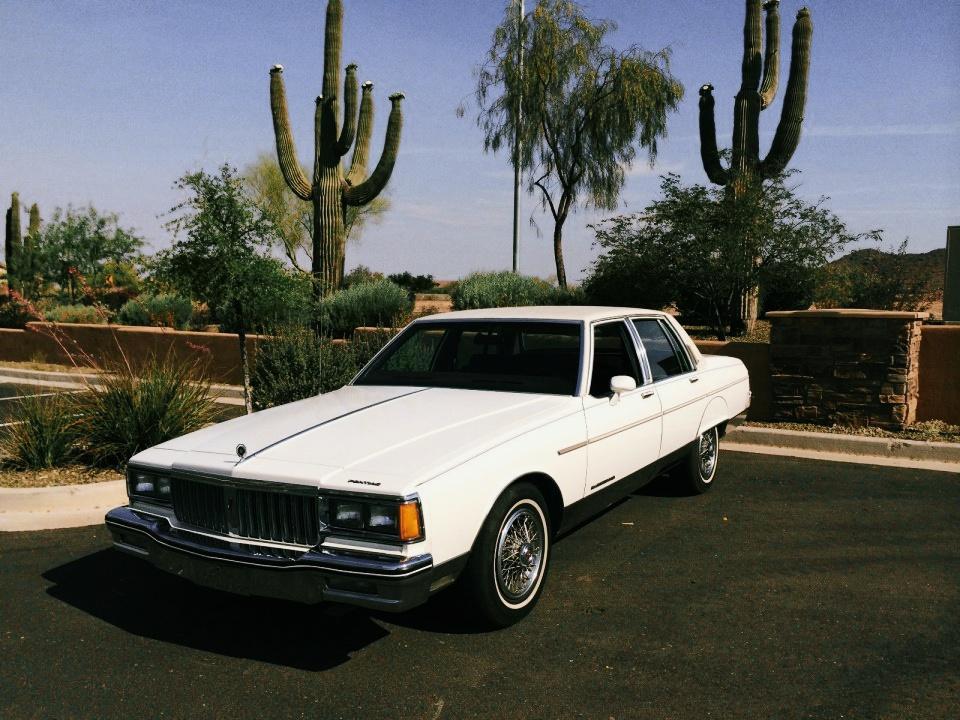 1985 Pontiac Parisienne Brougham For Sale
