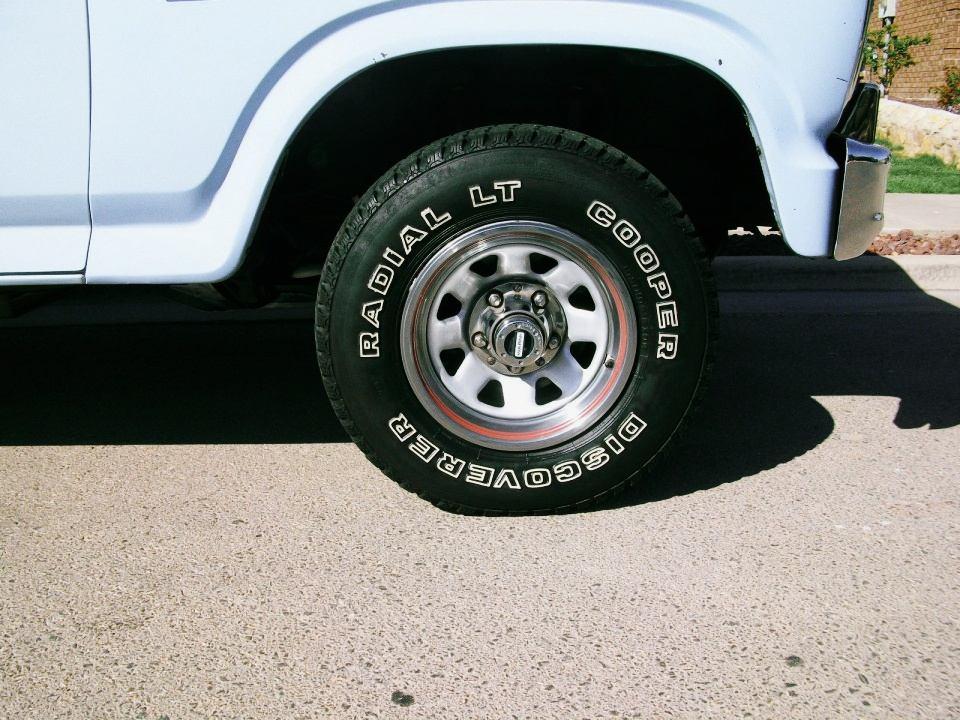 1986 Ford Bronco XL
