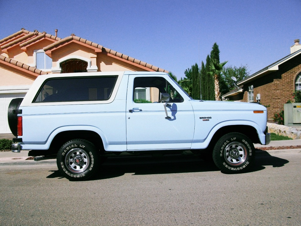 Cars For Sale El Paso >> 1986 Ford Bronco XL for sale