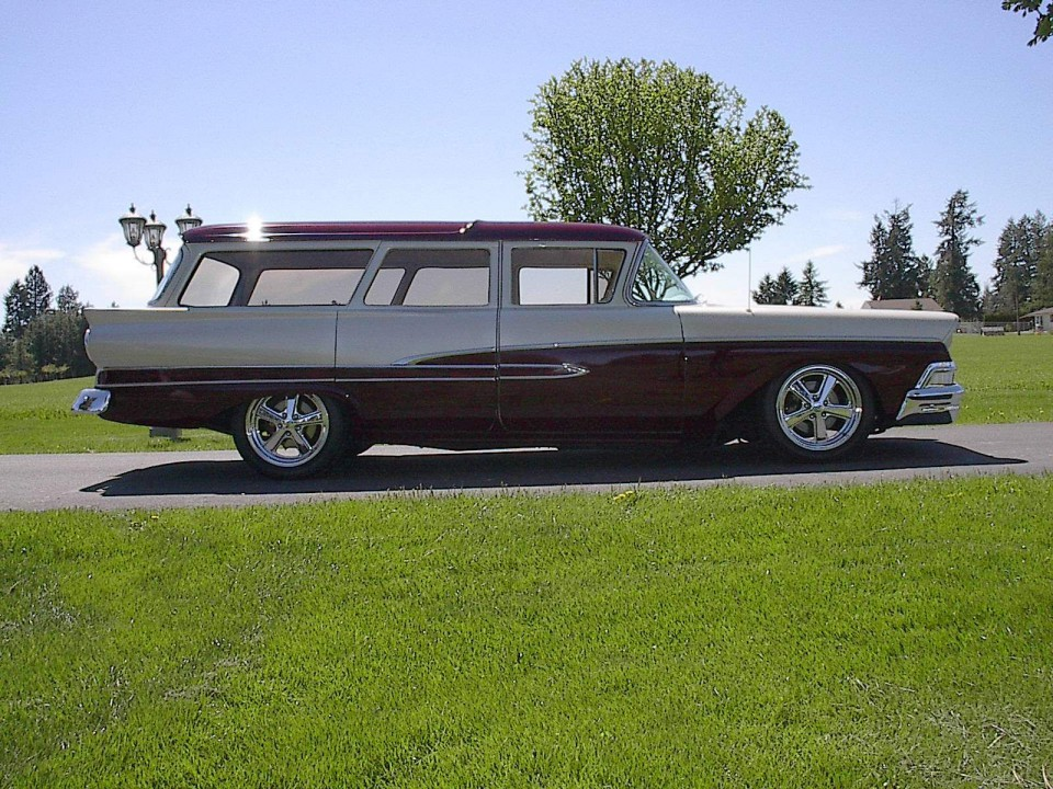 1958 Ford Wagon Street Rod