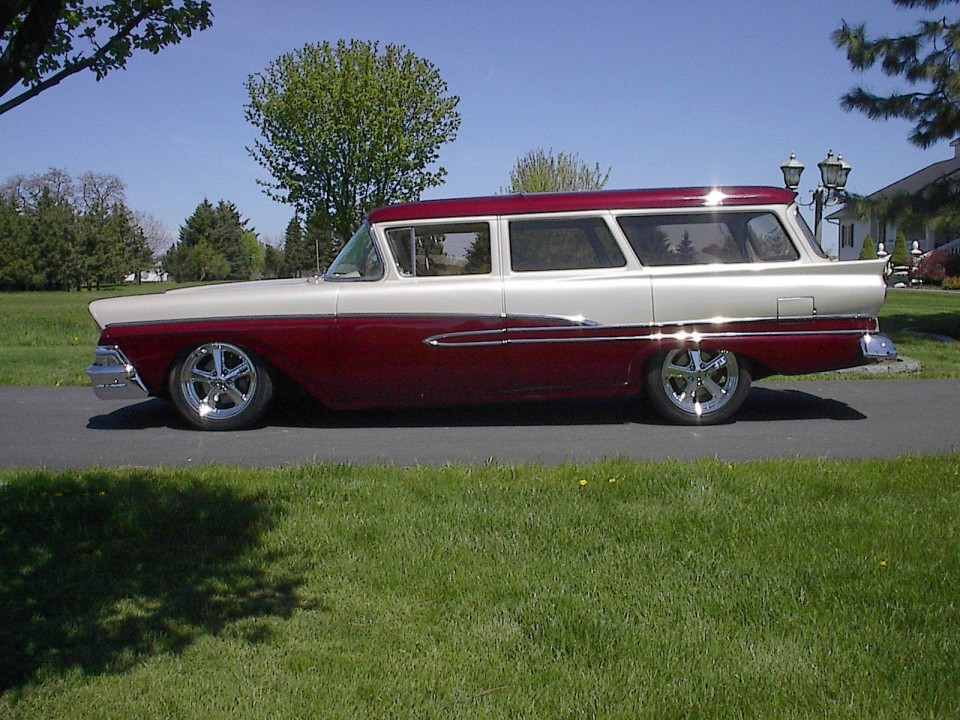 Ford Wagon Street Rod American Cars For Sale X