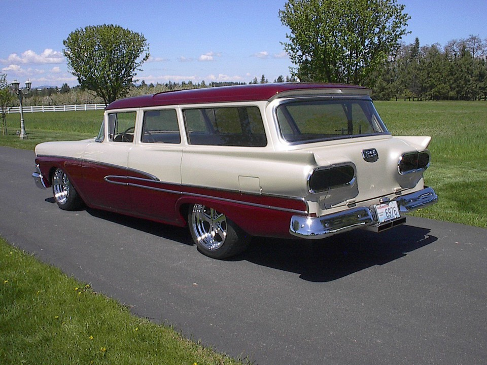 1958 Ford Wagon Street Rod For Sale