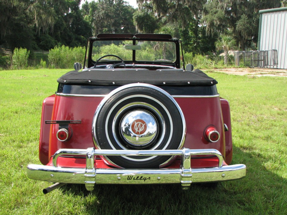 1950 Willys Overland Jeepster
