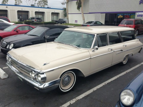 1962 Mercury Commuter Station Wagon for sale