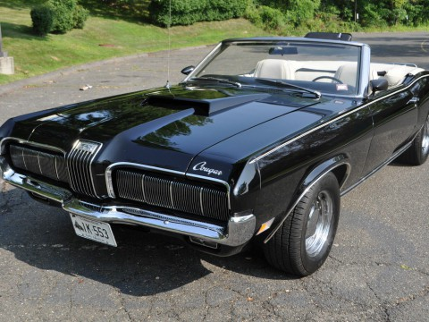 1970 mercury cougar convertible for sale