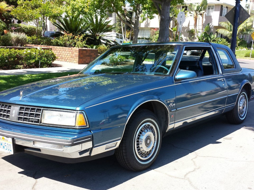 1987 Oldsmobile Ninety-Eight Brougham Coupe