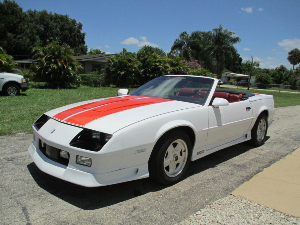 1992 chevrolet camaro z 28 convertible for sale. Black Bedroom Furniture Sets. Home Design Ideas