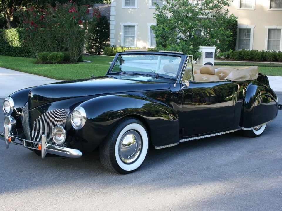 1940 Lincoln Continental Convertible for sale