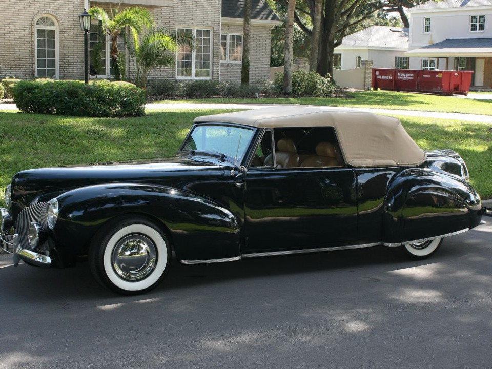 Lincoln Town Car 2016 >> 1940 Lincoln Continental Convertible for sale