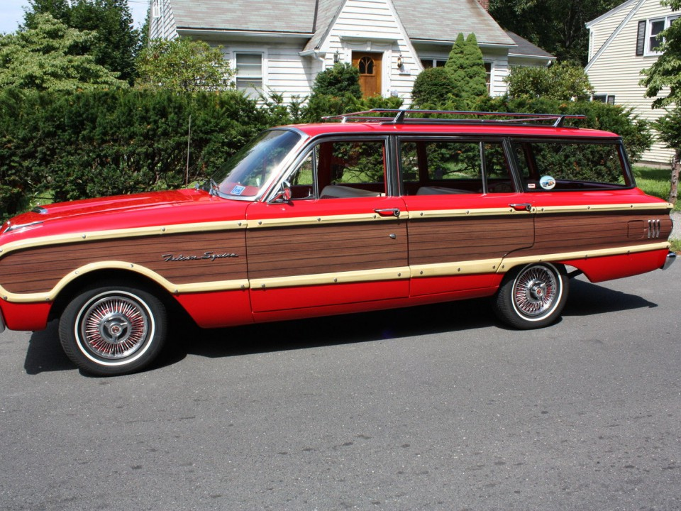 Ford Falcon Squire Wagon American Cars For Sale X