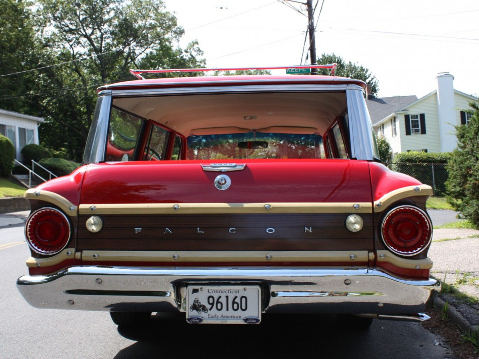 1962 Ford Falcon Squire Wagon