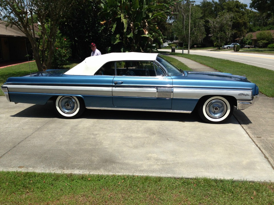 1962 Oldsmobile Starfire Convertible For Sale