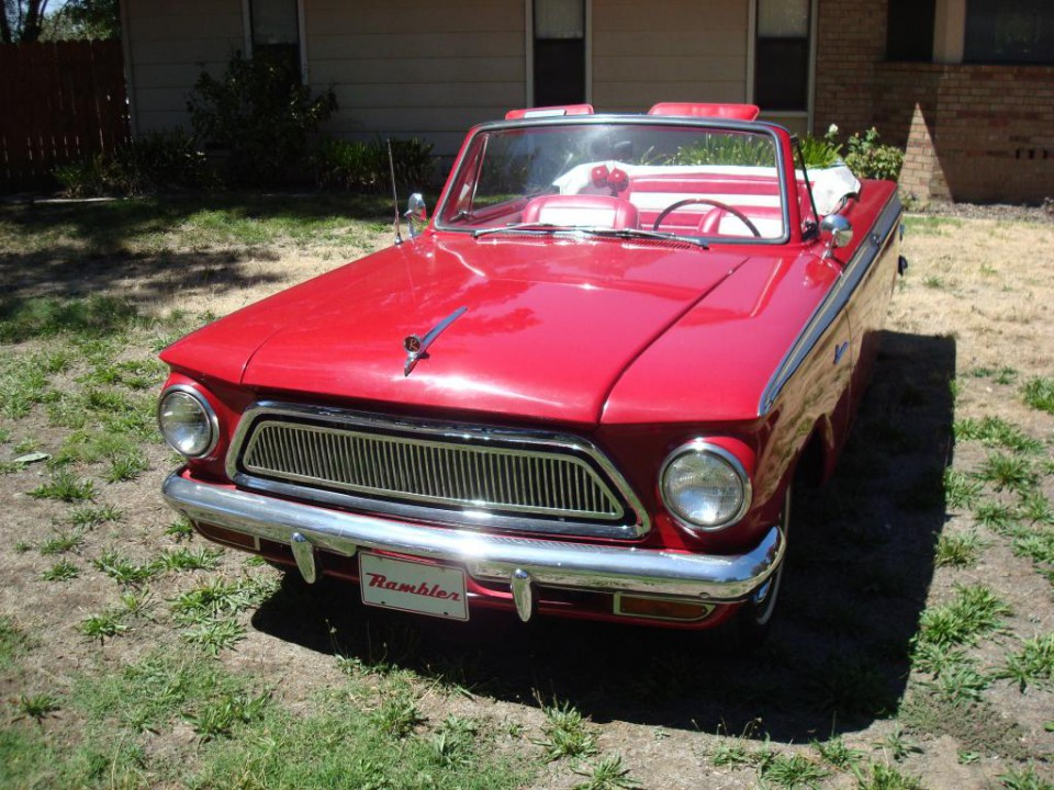 1963 amc rambler american 440 convertible american cars. Black Bedroom Furniture Sets. Home Design Ideas