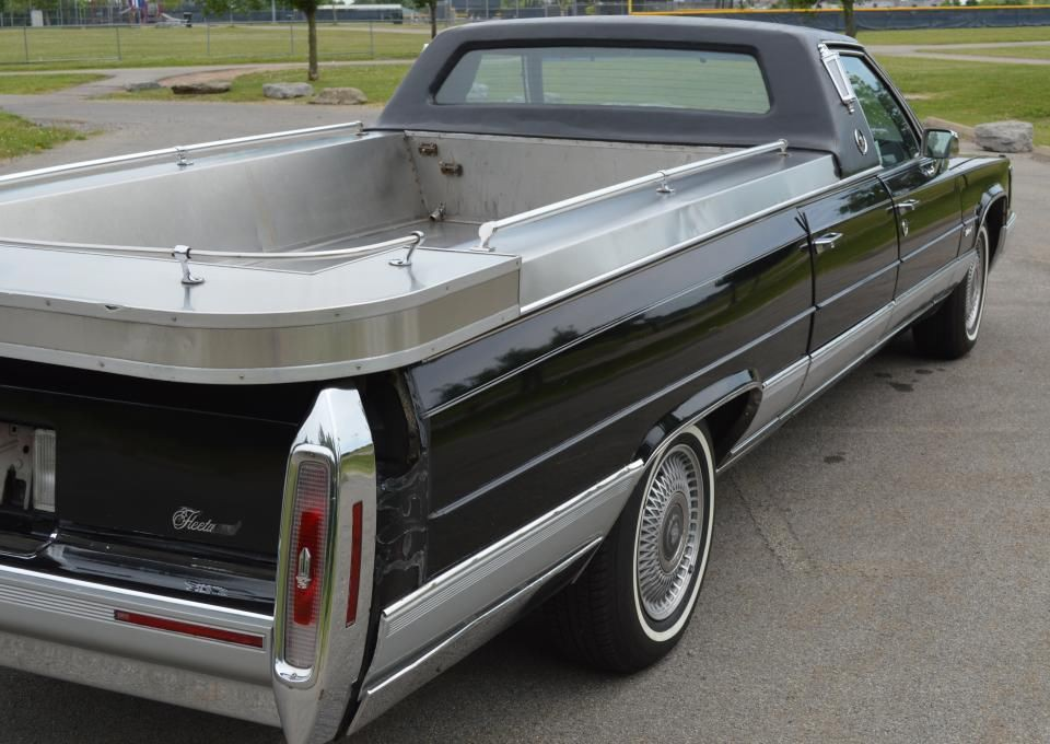1980 Cadillac Flower Car For Sale