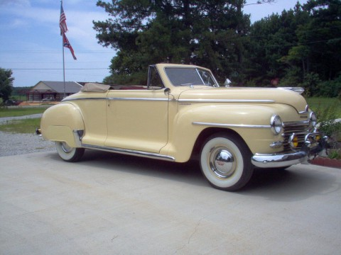 1947 Plymouth Special Deluxe Convertible for sale
