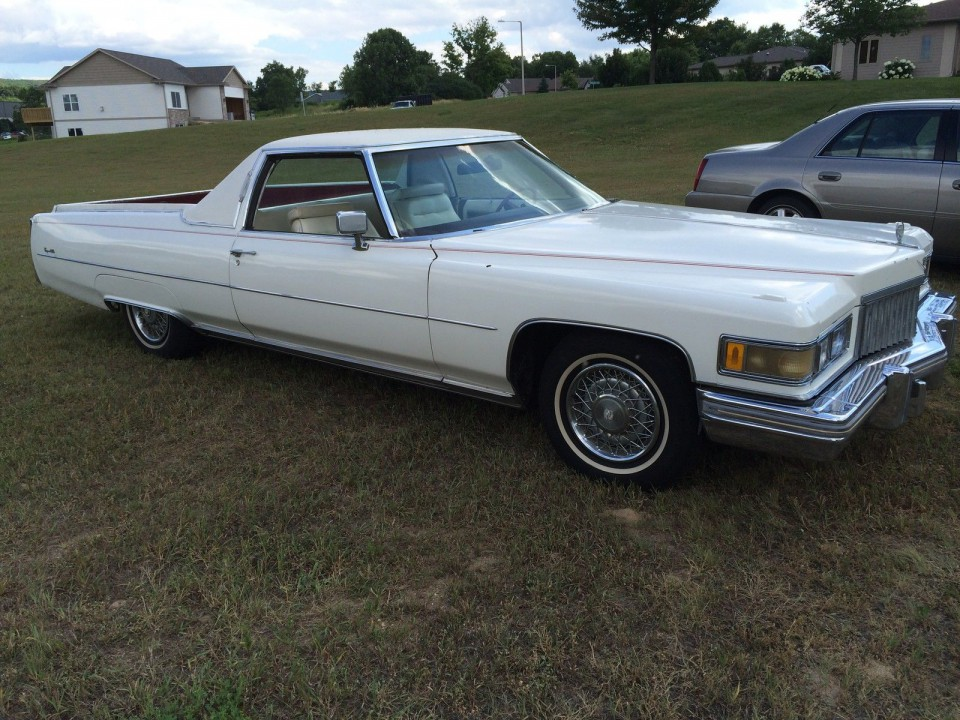 1975 Cadillac De Ville Pickup For Sale