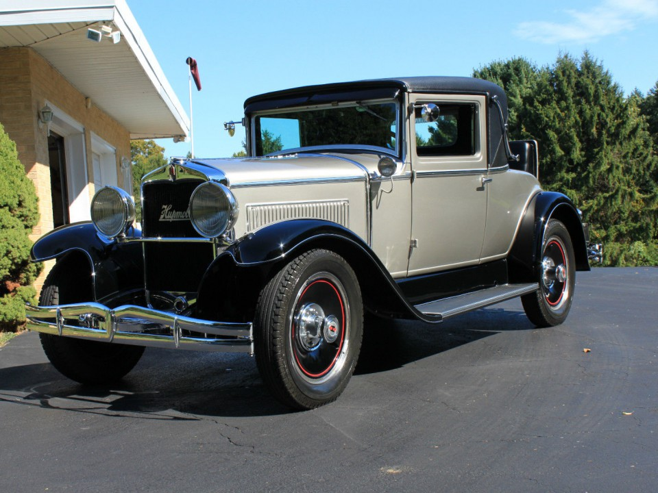 1929 hupmobile rumble seat coupe