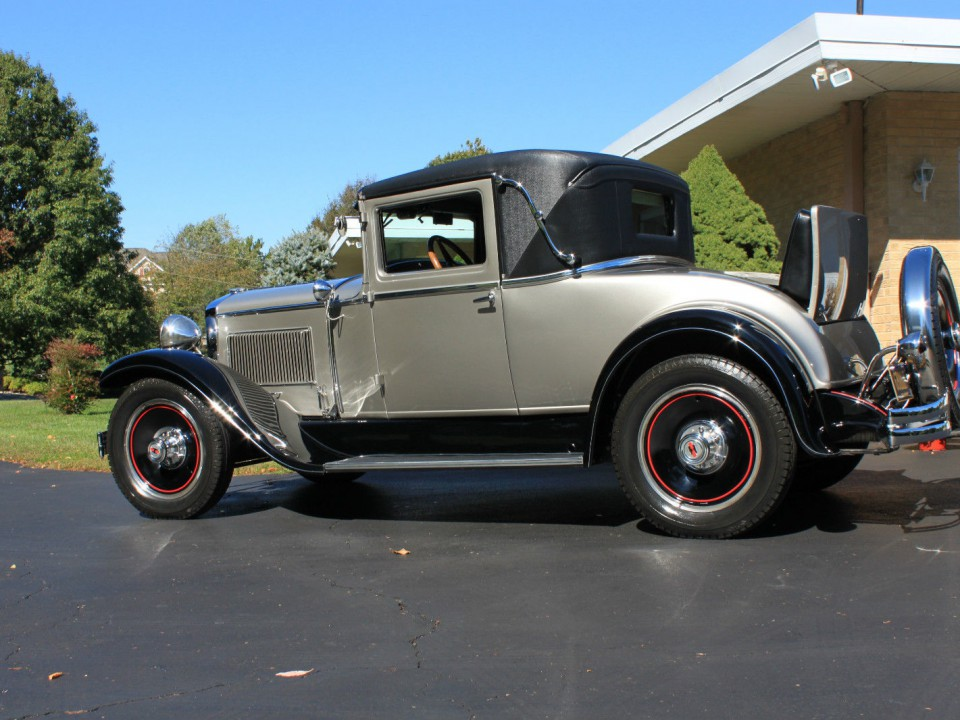 1929 Hupmobile Rumble Seat Coupe For Sale