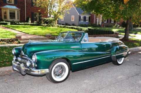 1947 Buick Series 50 Convertible for sale